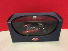 Bugatti EB 16.4 Veyron 1:43 Model Car Black Red AUTOart Discontinued RARE