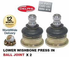 FOR NISSAN MICRA 2002-2006 NOTE 2006-  2x FRONT LOWER WISHBONE BALL JOINT SET