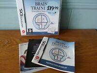 Dr. Kawashima's Brain Training: How Old is Your Brain (Nintendo DS, 2006) UK Pal