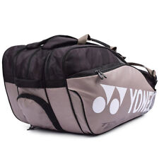 Yonex 2018 Gold Badminton Tennis Squash 3 Packs Racquet Bag Backpack Bag9829Ex