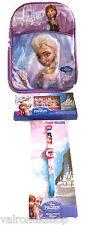 ULTIMATE Ufficiale Disney congelato pacchetto-Zaino, orologi e bracciali tutte nuove