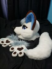Furry costume- White Wolf  Partial Custom made