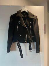 Women's Black Zara Coat, Size M, Great Condition