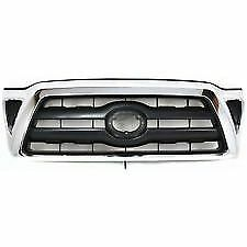 fits 2005-2008 TOYOTA TACOMA SR5 Front Bumper Radiator Chrome Grille NEW