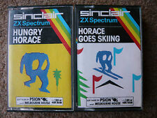 HUNGRY HORACE - HORACE GOES SKIING - PAPERBOY RARE SINCLAIR SPECTRUM GAMES