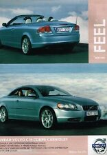 Publicité advertising 2007 Volvo C70 Coupé cabriolet