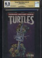 Teenage Mutant Ninja Turtles #51 CGC 9.2 SS Kevin Eastman 1992