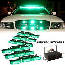 54 LED Green Car Emergency Hazard Strobe Flash Warning Light Deck Dash Grille