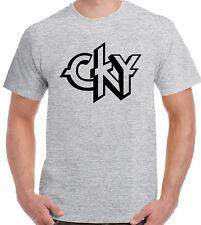CKY Mens T-Shirt - Jackass Bam Margera Branon DiCamillo Ryan Dunn Classic Logo