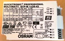 Osram Quicktronic Professional Multiwatt QTP-M 1x26-42 Electronic Ballast for 2D