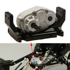 CNC 73mm Transfer Case + Mount Holder for 1/10 RC SCX10 D90 RC4WD Rock Crawlers