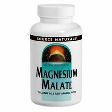 Magnesium Malate, 1250mg x 360Tabs, Source Naturals, Uk Stocks, 24Hr Dispatch
