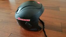 Rossignol Kids Black Skiing Snowboard Helmet 54cm S Small Youth Child