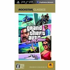 Used PSP Grand Theft Auto Libert City Stories SONY PLAYSTATION JAPAN IMPORT