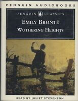 Emily Bronte Wuthering Heights 2 Cassette Audio Book Abridged Juliet Stevenson