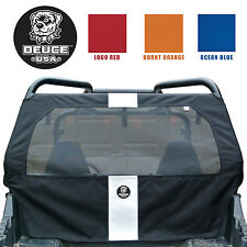 "Deuce USA POLARIS (2014-2008) RZR 800/900/570 DUST REAR SCREEN  6"" RACE STRIPED"