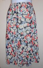 American Living Ladies Floral Chiffon Flounce Skirt Multi-Color XL NWT