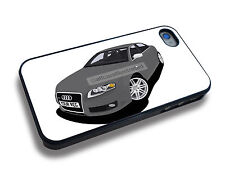 AUDI RS4 iPHONE iPHONE 5//6/7/8/X PERSONALISED CLIP ON COVER
