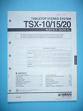 Service Manual für Yamaha TSX-10/TSX-15/TSX-20  ,ORIGINAL