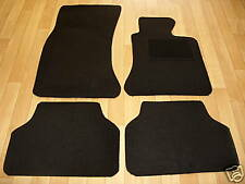 BMW 5 Series E60 Auto (2003-2010) Fully Tailored Premium Car Mats in Black