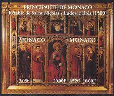 MONACO 2000 CATTEDRALE ALTARE/Schermo/Santi/ARTE/PITTURA/INTAGLIO 2 V M/S (n38186)