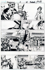 CHRIS BACHALO Uncanny X-Men #2 pg 15 Original Comic Art MAGIK Emma Frost NYCC 16