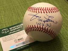 JOSE RIJO Signed Inscribed Official MLB Baseball SGC COA Reds 90 WS Champs