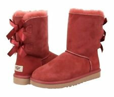 UGG Bailey Bow Womens Boots REDWOOD 1002954 Winter Boots SIZE 8