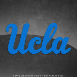 """UCLA California Bruins Logo Vinyl Decal Sticker - 4"""" and Up - More Colors!"""