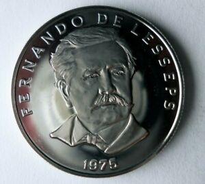 1975 PANAMA 50 CENTESIMOS - PROOF - Key Type - Low Mintage Coin - Lot #J20
