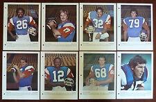 1979 Dimanche / Derniere Heure CFL Montreal Alouettes Photos Full Set 8/8