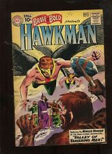 BRAVE AND THE BOLD #35(4.5) 2ND APPEARANCE OF HAWKMAN & 1ST APP OF MATTER MASTER