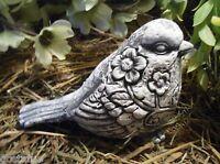 Latex bird mold plaster cement casting garden mould
