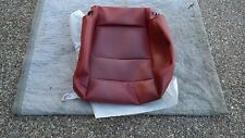 PORSCHE 997 & 987 OEM FACTORY GENUINE RED LEATHER SPORT SEAT LOWER CUSHION COVER