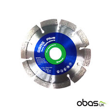 Obas Plus 125mm Hard Application Diamond Disc | Blade | Angle Grinder | Cutter