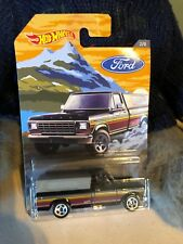 2018 Hot Wheels '79 Brown Ford Pickup Truck Antique Classic