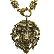 Kirks Folly Aslan Lion King Pendant Charm Magnetic Interchangeable Necklace bt
