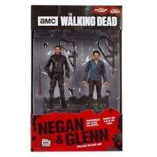 MCFARLANE THE WALKING DEAD NEGAN & GLENN 5 INCH ACTION FIGURE 2 PACK