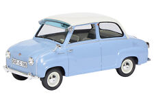 Goggo Goggomobil BLU BLUE BIANCO 1955 - 1969 resin Pro Schuco 1:18