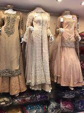 Wedding Bridal Dress Gown Pearls English Traditional Vintage Indian Pakistani
