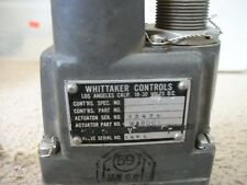 USED FOR PARTS OR CORE FUEL CROSS FEE VALVE WHITTAKER SHUT OFF BEECH