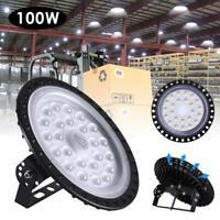 4X 100W UFO LED High Bay Light Shop Floodlight Garage Lamps Lights 100 Watt Bulb