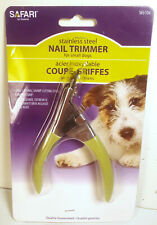 Safari Guillotine Nail Trimmer Clipper for Dogs Small Breeds W6104 NEW