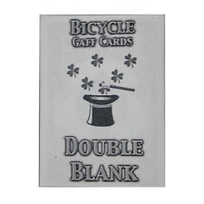 Double Blank Bicycle Cards (box color varies) from Murphy's Magic