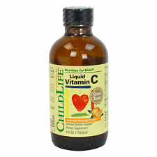 ChildLife Essentials Liquid Vitamin C Natural Orange Flavor 4fl oz FREE Shipping
