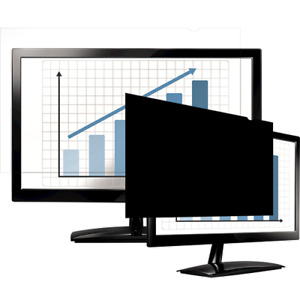 """Fellowes 19"""" Widescreen-PrivaScreen Blackout Privacy Filter, CRC48011"""