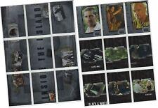Lost Revelations - 18 Chase Card Set - 9 Inside - 6 Black & White - 3 Mission