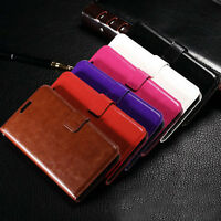 For Samsung Galaxy J5/J7 Luxury Leather Flip Wallet Card Holder Stand Case Cover