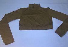 Youth Girls Danskin Dance Wear Long Sleeve Turtle Neck Belly Shirt Black M