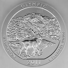 2011-P 25C Olympic National Park 5 oz. 99.9% Pure Silver Specimen Coin PCGS SP69
